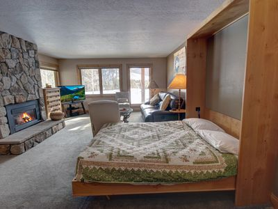 Photo for Tastefully decorated, this one bedroom at Quicksilver is  perfect for a quick getaway with your significant other!
