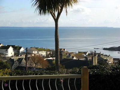 Photo for Holiday Cottage With Fabulous Views, Garden, Deck And Private Off Road Parking