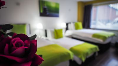 We will even give you 3 full size comfortable single beds upon request