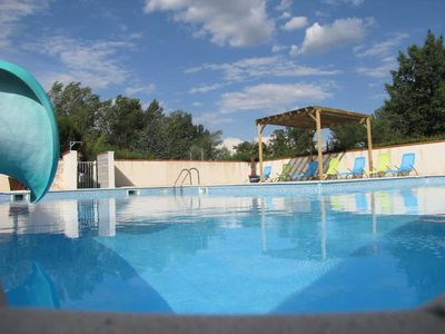 Photo for Camping Grand Sud Village - Bungalow Titom 3 Rooms 5 Persons