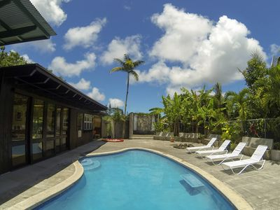 Photo for Sprawling Mid-Century Hawaiian Plantation Home with Swimming Pool + Spa!