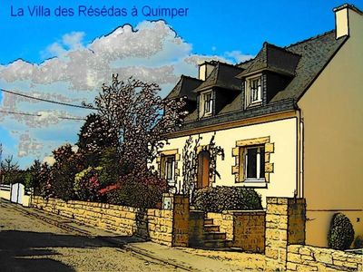 Photo for A delightful bretton cottage at Quimper
