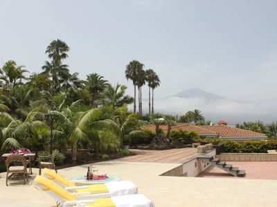 Photo for Well-kept holiday villa, great garden and views of Puerto de la Cruz / Teide
