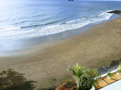 Photo for Apartment in Playa Chica S / C Tenerife. Beach the seagulls.