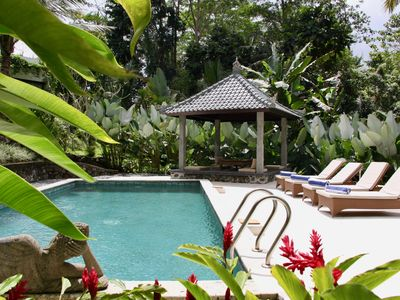 Photo for Bali Ubud: Villa Hutan Sawah - Villa in the heart of Balinese nature
