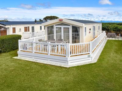 Photo for Desirably located on Crugan holiday park offers a perfect seaside escape for families in all season.