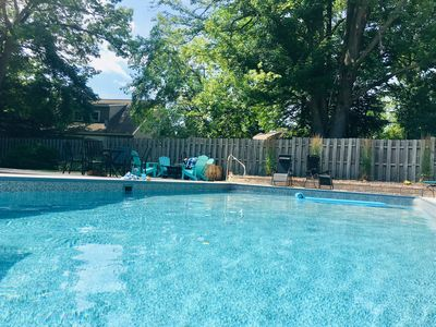 Photo for NEW - just renovated with new oversized private pool in downtown New Buffalo!