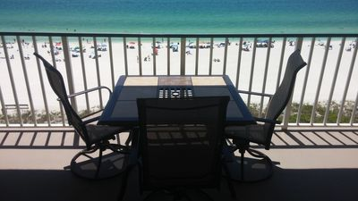 Photo for APOLLO Beachfront Condo...WOW..on beach, pool, tennis, covered parking, sunsets