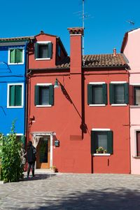 Photo for Typical Venetian house overlooking the courtyard of Comare with lagoon view ....