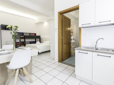 Photo for Air-conditioned studio close to all the best tourist locations of Salento