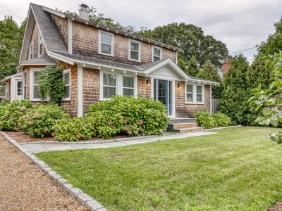 Photo for Beautifully updated 1925 home w/ fenced yard & deck - walk to town, 1 dog OK!