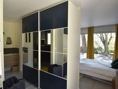 Photo for quiet architect villa 3km from the city center