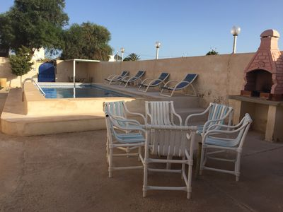 Photo for Detached villa with private pool, covered parking