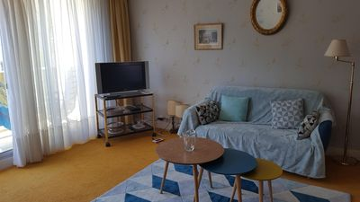 Photo for spacious apartment la baule close to the market and the beach, free wifi