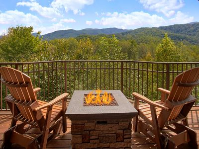 Photo for Private 1 bedroom with beautiful views of the Great Smoky Mountains!