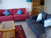 Great base in Alpe D'Huez for family needing 3 bedrooms. With some notes re cycle hire.