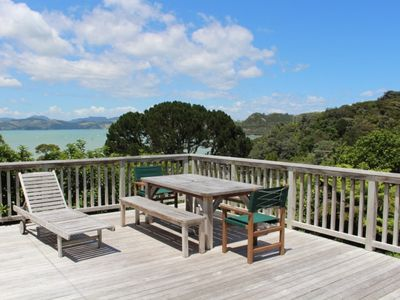 Photo for Coromandel Cottage  - Romantic Rustic - Sea views