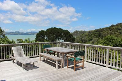 Coromandel Cottage - Deck + Views!