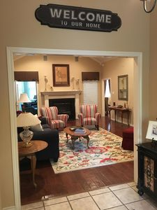 Welcoming entry way.