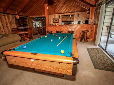 Photo for *CENTRAL RESORT CHALET~Pool Table~Hot Tub~