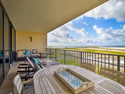 Photo for NEW! Beachfront Dauphin Island Resort Condo w/Pool