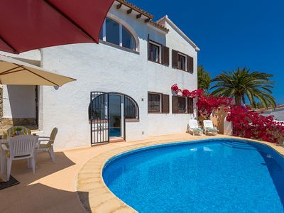 Photo for BELLAVISTA, villa with wonderful views of the sea and the mountains. free wifi