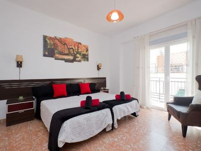 Photo for 3 bed & breakfast Wifi + air conditione + 5 'Alhambra 3