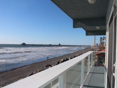 Photo for Beachfront 3 Bedroom On The Strand With Spectacular Ocean Views