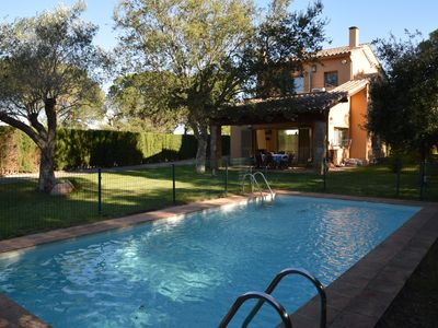 Photo for VILLA CALELLA - WITH PRIVATE POOL FOR 8 PEOPLE