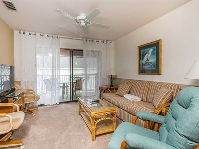 Photo for Oceanfront Condominium with Balcony, Pool and Boardwalk to Beach. Partial Ocean View