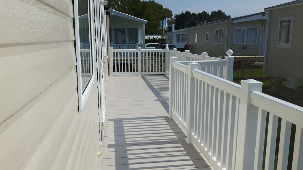 Property Image2 Prestige Mobile Home With Decking On A 5 Haven Holiday Park