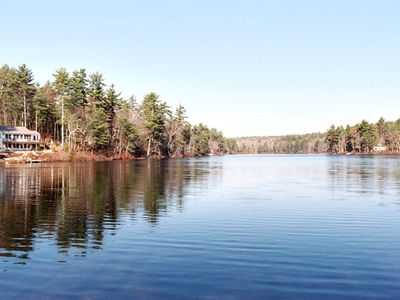 Photo for Quiet Lake Serenity Just 10 Miles from Portland!