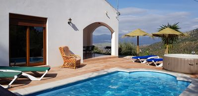 Photo for BEAUTIFUL VILLA WITH PRIVATE SWIMMING POOL HEATED WITHOUT OPPOSITE WITH MAGNIFICENT VIEW