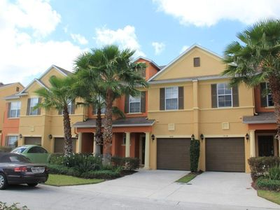 Photo for 3 Bed Townhome in the luxury community of Reunion - 5 miles from Disney