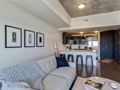 Photo for Lovely 1BR w/ Pool + Gym in Uptown Charlotte