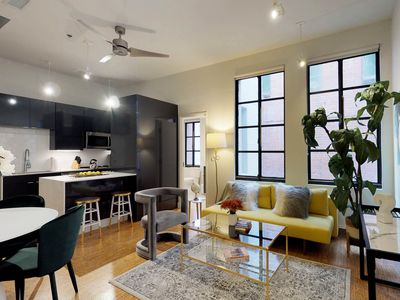 Photo for NEW LISTING! Bright, loft apartment w/shared rooftop patio in heart of downtown