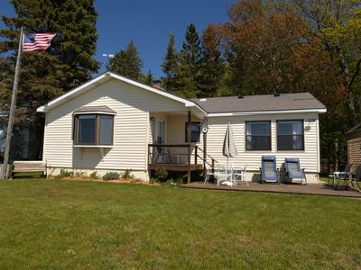 Photo for Comfortable & Charming Cottage on Lake Michigan, 1 block from Camp Arcadia