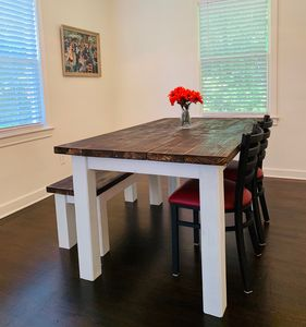 Enjoy a wonderful meal in this spacious, clean and comfortable dining area.