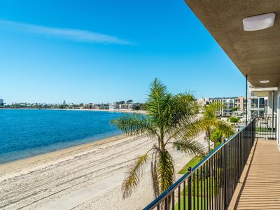 BEACHES ARE FULLY OPEN!  BEAUTIFUL BAYFRONT 4 BEDROOM ON THE BAY W/WATER VIEWS!!