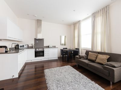 Photo for An ultra modern 1 bed apartment in a classic Notting Hill townhouse (Veeve)