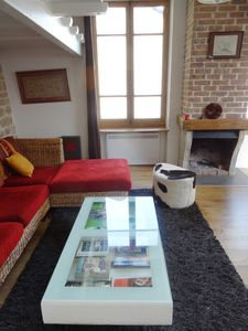Photo for Charming apartment with breathtaking view on the Old Lyon