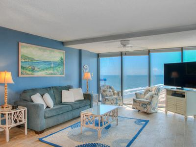 Photo for Forest Dunes 1603 Spacious 3 Bedroom Condo With Ocean View Balcony