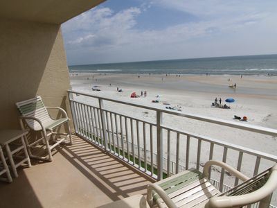 Photo for Direct Oceanfront at Sea Coast Gardens, Just Steps From the Beach!