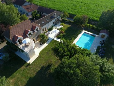 Photo for Madiran is a Beautiful Barn Conversion  - Sleeps 6 - Salt Water Swimming Pool
