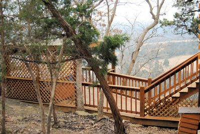 Private Hot Tub overlooking Inspiration Valley and incredible sunsets