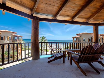 Photo for Enjoy relaxation on 3rd floor Reef View beach home - Best Summer Rates!