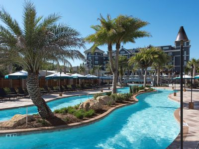 Photo for Views of the Gulf Coast + Private Beach Access | Family Pool with Splash Park + Lazy River