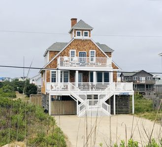 Photo for Kitty Hawk Lifesaving Station #7-Pool! Unobstructed Views! Oceanfront