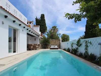 Photo for Charming holiday home with pool and close to the beach