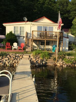 Photo for Stone Lake Vacation Cottage in Middlebury, IN near I 80/90